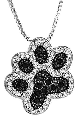 collana-ciondolo-motivo-impronta-di-zampa-argento-e-nero-cane-gatto-b2