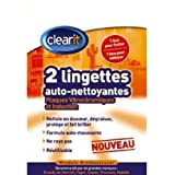 Clearit 71X5027 Lingettes Auto-Nettoyantes Vitro + Induction