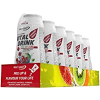 Best Body Nutrition Vital Drink Mix up 1:80 Kirsche Flavour Drops, 6 x 48ml
