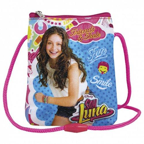 Preisvergleich Produktbild Disney Soy Luna Kinder Geldbeutel Brustbeutel kleine Tasche Portmonnaie Geldbörse Börse