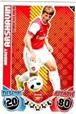 Andrey ARSHAVIN Arsenal Individuelle Match Attax 2010/11 Trading Card