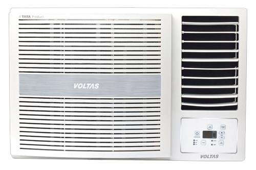 Voltas 185 LY Luxury Y Series Window AC (1.5 Ton, 5 Star Rating, White, Copper)