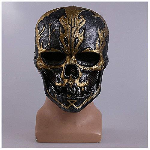h der Karibik 5 Dead Untested Maske Kopfbedeckungen Cos Halloween Piraten Maske ()