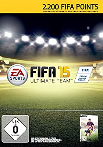 FIFA 15 - 2200 Ultimate Team Points (Code in the Box) - [PC] (Fifa 14 Ultimate Team Beste Spieler)