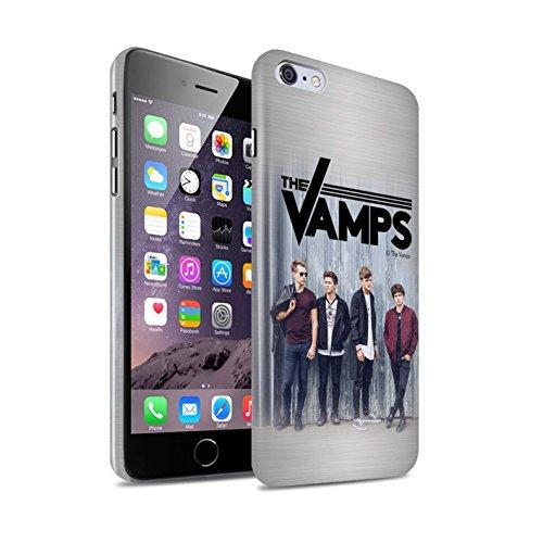 Officiel The Vamps Coque / Clipser Brillant Etui pour Apple iPhone 6+/Plus 5.5 / Pack 6pcs Design / The Vamps Séance Photo Collection Brossé