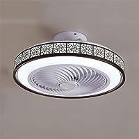 OUJIE Ventilateur Au Plafond avec Éclairage, LED 72W Ventilateur avec Télécommande, Réglable Vitesse du Vent Et Dimming…