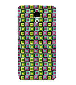 Fuson 3D Designer Back Case Cover For Xiaomi Mi 4