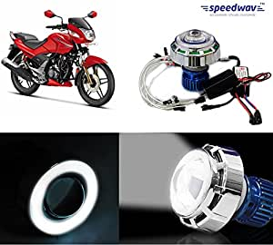 Speedwav LED Projector Light With Angel Eye White-Hero CBZ Extreme