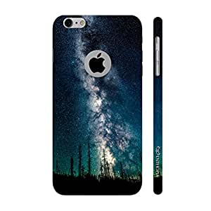 Enthopia Designer Hardshell Case Milky Way Back Cover for Apple Iphone 6, 6s With Hole