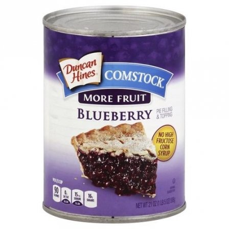 Duncan Hines Comstock Blueberry ...
