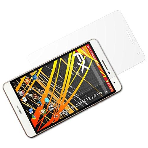 atFolix Schutzfolie kompatibel mit Huawei MediaPad T2 7.0 Pro Bildschirmschutzfolie, HD-Entspiegelung FX Folie (2X)
