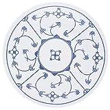 Kahla Blau Saks Speiseteller, Teller, Porzellan, Blau Saks, 23,5 cm, 453402A75019H
