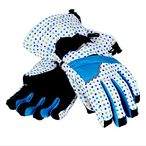 Runature donna guanti da sci in inverno il vento caldo guanti impermeabili per snowboard termico thinsulate antivento