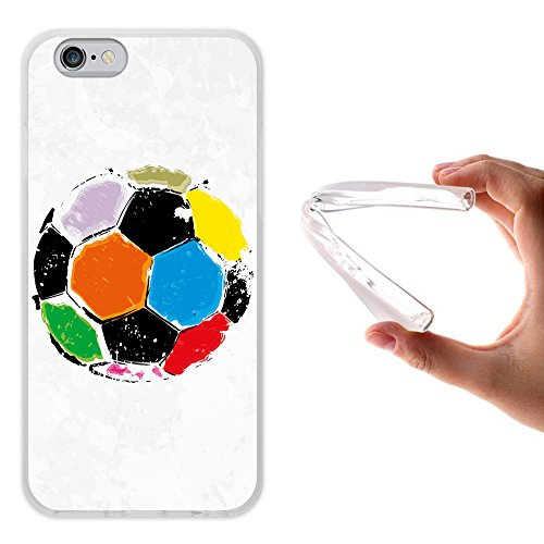 iPhone 6 6S Hülle, WoowCase Handyhülle Silikon für [ iPhone 6 6S ] Buddha Handytasche Handy Cover Case Schutzhülle Flexible TPU - Transparent Housse Gel iPhone 6 6S Transparent D0048