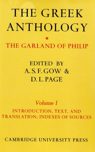 Price comparison product image The Greek Anthology 2 Volume Set: The Garland of Philip and Some Contemporary Epigrams: The Greek Anthology 2 Volume Paperback Set: The Garland of Philip and some Contemporary Epigrams