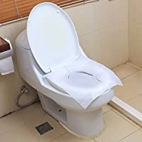 Bluelans® Travel Pack of 1 PACK (10pcs) - Disposable Paper Toilet Seat Covers