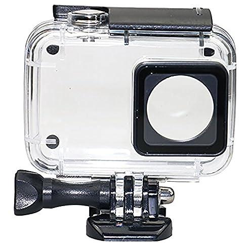 COOSA Caisse boîtier étanche waterproof case étui étanche de l'action yi 4K pour Xiaomi Yi 2Caméra 4K Appareil photo 1negro