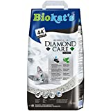 Biokat's Diamond Care Classic Katzenstreu / Hochwertige Klumpstreu für Katzen mit Aktivkohle und Aloe Vera / 1 Papierbeutel à 8 L
