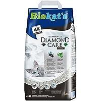 Biokats Diamond Care Classic Katzenstreu – Hochwertige Klumpstreu für Katzen mit Aktivkohle und Aloe Vera – 1 Papierbeutel à 8 L