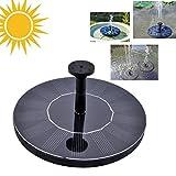 A-SZCXTOP 1.4W Solar Teichpumpe Solarbrunnen Wasserpumpe Mit Freie stehende Brunnen und Pumpe für Teiche Pool Garten Fisch-Behälter kleiner Teich