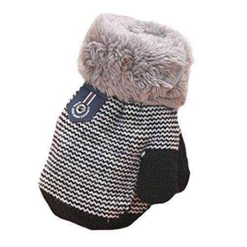 Handschuhe Jamicy® Winter Warm Dickere Baumwolle Fingerhandschuhe Kleinkind Baby Jungen Mädchen (Schnee Für Kleinkinder Handschuhe)