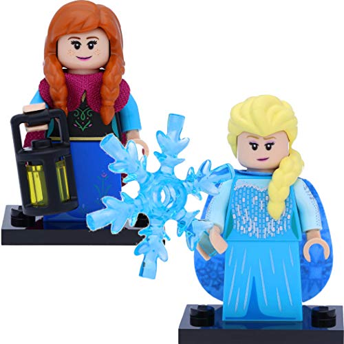 LEGO 71024 Disney Serie 2 Minifiguren: #9 ELSA und #10 Anna (Frozen) -