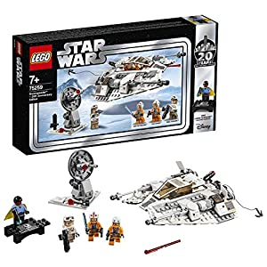 LEGO Star Wars Snowspeeder, Edizione 20° Anniversario, Collezione con Luke Skywalker, Dak Ralter, Rebel Trooper e Lando… LEGO Star Wars LEGO