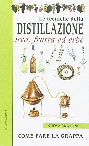 Le tecniche di distillazione. Uva, frutta ed erbe