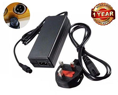 neri 42V 2A UK Plug AC Adapter Chargeur pour Hoverboard 2Roues Scooter électrique Auto-équilibrage Monocycle Drifting Bo