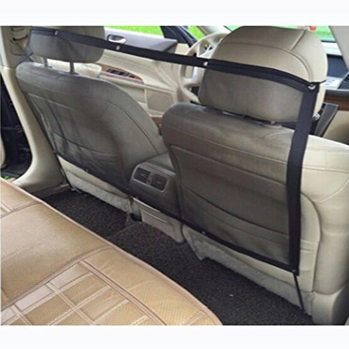 VWH Pet Car Net Barrier Universal Auto Safety Blocks Dog Cat Pets Access To  Front Seats