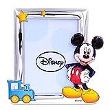 Bilderrahmen Silberrahmen Fotorahmen Disney Kind Mickey Mouse cm 13 x 18