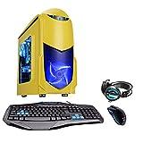 Fierce Ultra rápido Dualcore AMD Gaming PC doméstico (juego de ordenador) - 3,9GHz AMD A-Series A4-6300 - Oficina, computadora de la familia - (WIFI, 16GB RAM, Disco Duro de 1TB, gráficos R7-Series integrados) - 221254