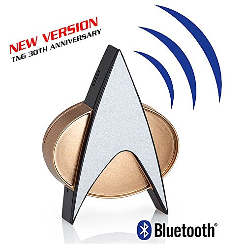 Star Trek: The Next Generation Bluetooth Communicator Badge - Neue verbesserte Version Star Trek Handy