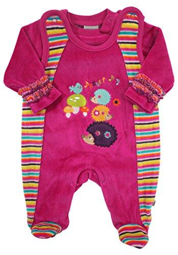 Jacky Mädchen Nicki-Strampler & Baby-Shirt Forest Friends Farbe: pink; Größe: 68 [J342541-4991]