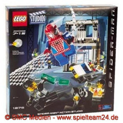 LEGO 1376 STUDIOS   SET DE RODAJE DE SPIDERMAN (244 PIEZAS)