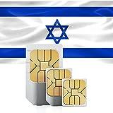 travSIM Israel Prepaid Daten SIM Karte + 250MB für 30 Tage - Standard,Micro & Nano SIM