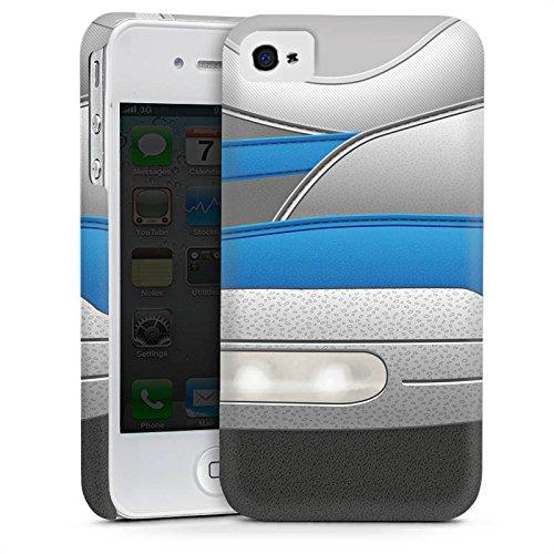 Apple iPhone 5c Housse Outdoor Étui militaire Coque Chaussures Baskets Bleu Cas Premium mat