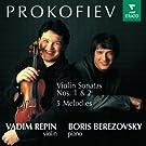 Prokofiev : Violin Sonatas 1, 2 & 5 Melodies