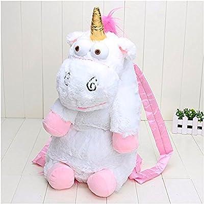 Corto Unicornios de peluche Niños Mochila, Animal Bolso de hombro con estilo de las niñas, bolso de la taleguilla
