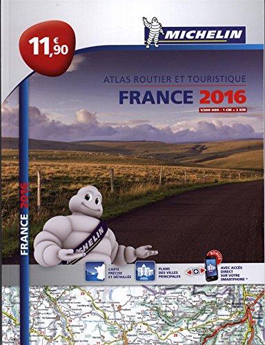 Atlas France 2016 L'essentiel Michelin par Collectif Michelin