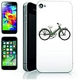 """'s de smartphone case """"Bicicleta Bike de eléctrico de verde de vehículo de Hace de transporte de motor para Apple iPhone 4, 4S, 5, 5S, 5C, 6/6s, 7& Samsung galaxy s4, S5, S6, Edge, S6, S7S7Edge Huawei HTC–Diversión de diseño de culto de regalo idea Pascua Navidad"""