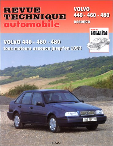 Revue Technique Automobile, CIP 540.2 : Volvo 440 – 460 – 480 essence