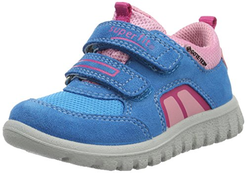 superfit-baby-madchen-sport7-mini-lauflernschuhe-blau-turkis-kombi-24-eu