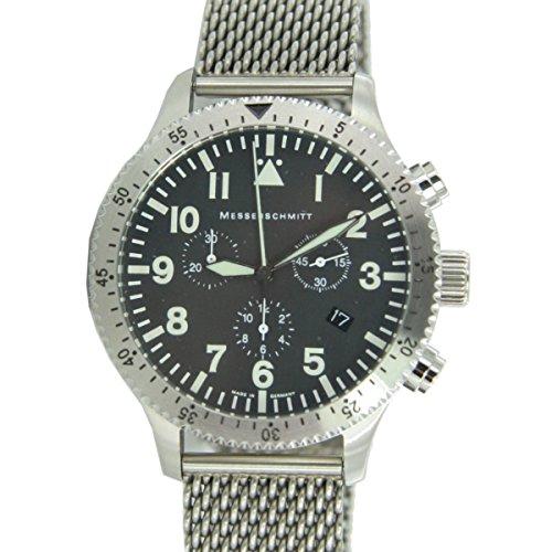 Aristo Herren Messerschmitt Uhr Chrono Fliegeruhr ME 5030M / 5030M