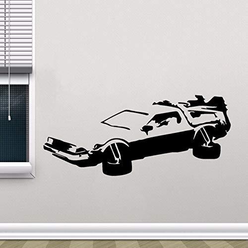 Handaxian HotMeiNi Auto Aufkleber JDM Styling Fenster Bumper Truck Karosserie Aufkleber Delorean Zurück in die Zukunft Marty Mcfly Doc Brown Decor19 * 8cm