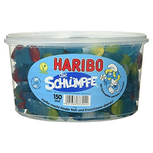Haribo Schlümpfe, 1.35 kg Dose
