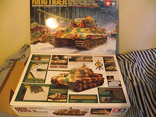 King Tiger. Panzerkampfwagen VI Tiger II (Sd.kfz.182) Ausf. B. German Heavy Tank Type VI. 1/16 Exact Scale for Radio Control par Tamiya