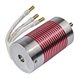 MagiDeal 3665 2600KV Motor Brushless Impermeable 5mm Piezas de Recambio para 1:10 1:8 RC Racing Car