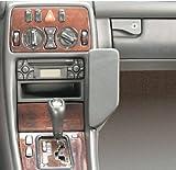 Waeco MBK120 Echtleder Telefonkonsole schwarz für Mercedes Benz CLK (W208) Bj. 1998-2001