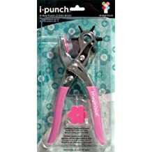 Imaginisce i-punch Hole Punching Tool, 6 Sizes of Round Holes from 2.5mm to 6mm by Imaginisce